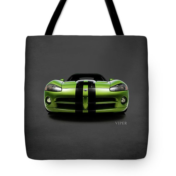 Dodge Viper Tote Bag