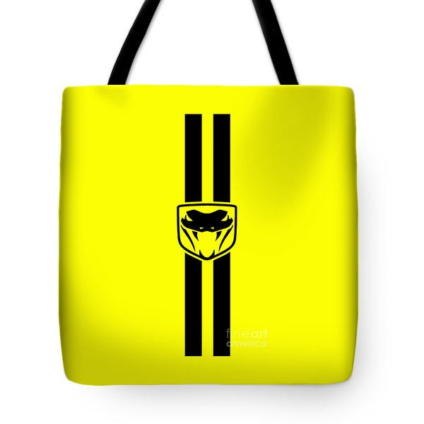 Dodge Viper Yellow Phone Case Tote Bag by Mark Rogan