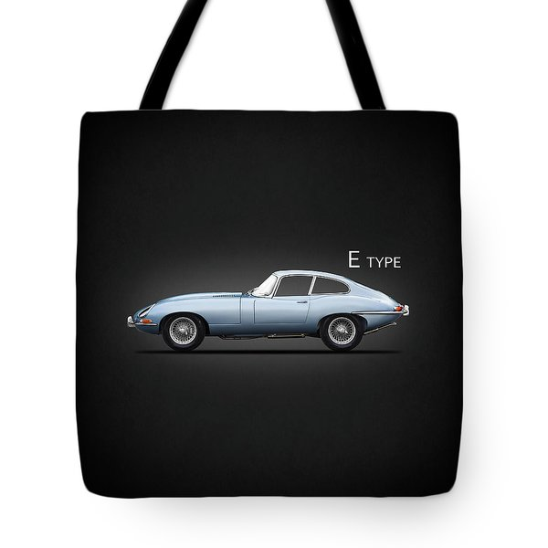 The 65 E-type Coupe Tote Bag