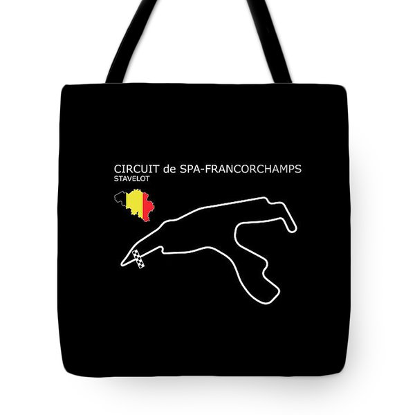 Spa Francorchamps Tote Bag