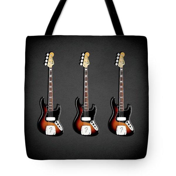 Fender Jazzbass 74 Tote Bag