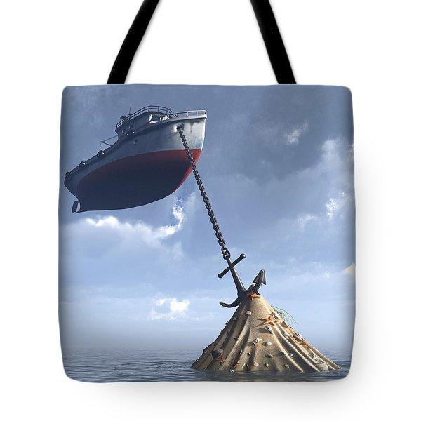 Dry Dock Tote Bag by Cynthia Decker