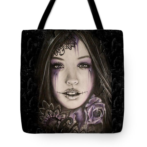 Lithium Tote Bag by Sheena Pike