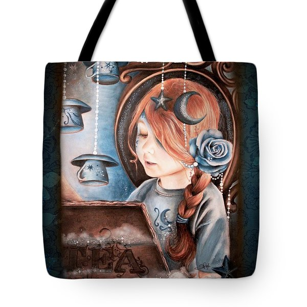 Tea In The Moonlight Tote Bag by Sheena Pike