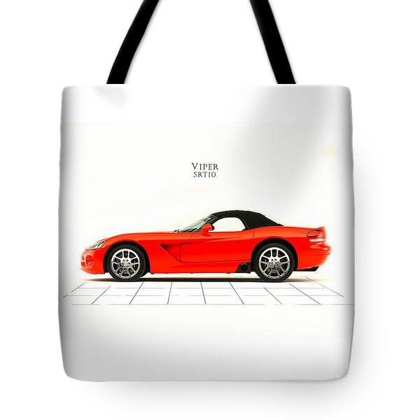 Dodge Viper Srt10 Tote Bag