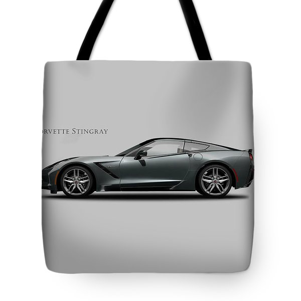 Corvette Stingray Coupe Tote Bag