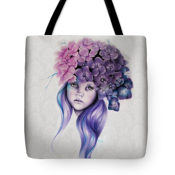 Hydrangea Tote Bag by Sheena Pike