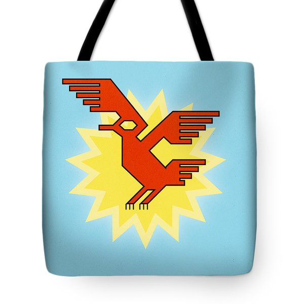 Native South American Condor Bird Tote Bag