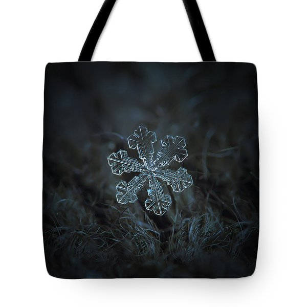 Snowflake Photo - Vega Tote Bag