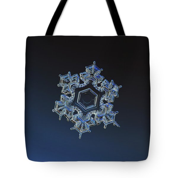 Snowflake Photo - Spark Tote Bag