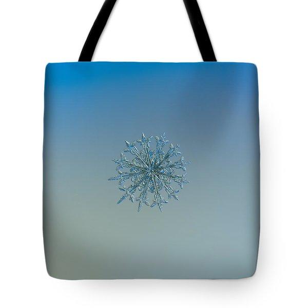 Snowflake Photo - Twelve Months Tote Bag