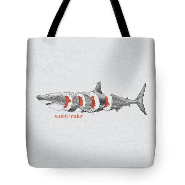 Sushi Mako Tote Bag