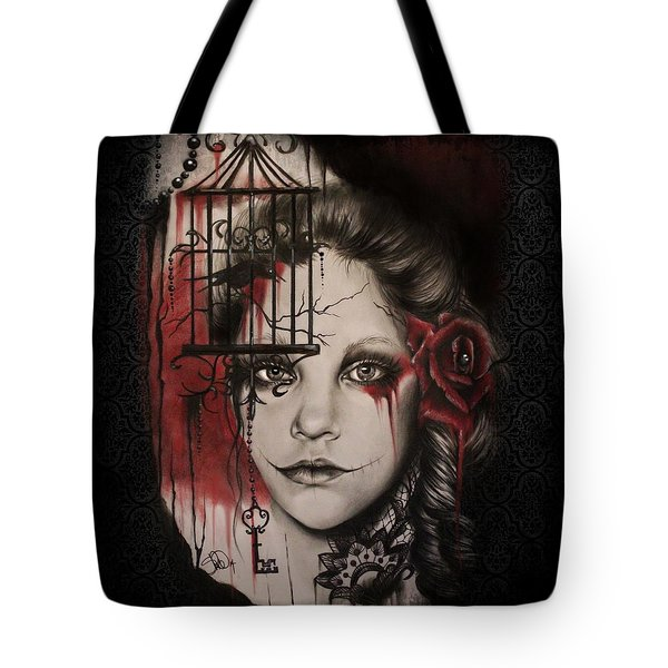 Inner Demons  Tote Bag by Sheena Pike