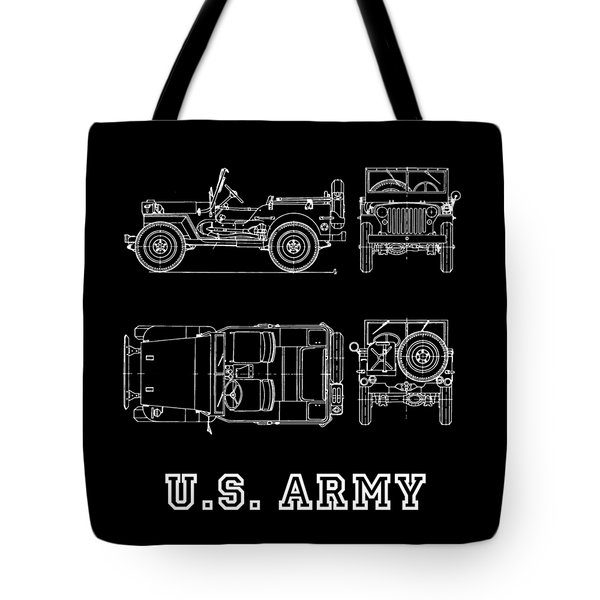 The Willys Jeep Tote Bag