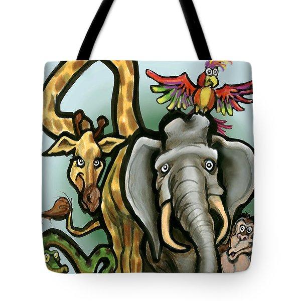 Zoo Animals Tote Bag