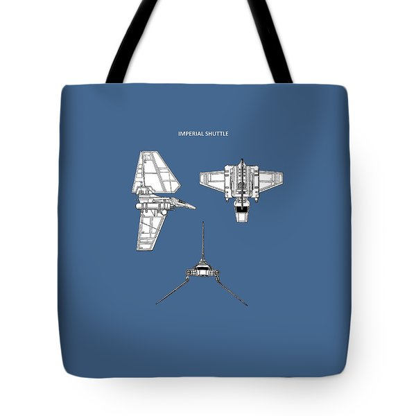 Star Wars - Shuttle Patent Tote Bag