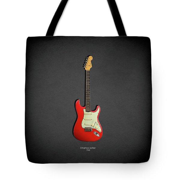 Fender Stratocaster 63 Tote Bag