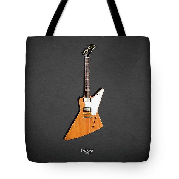 Gibson Explorer 1958 Tote Bag
