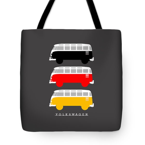German Icon - Vw T1 Samba Tote Bag