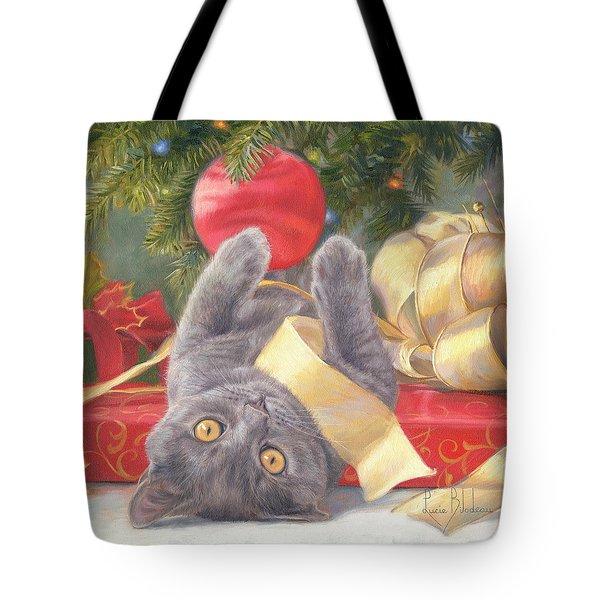 Christmas Surprise Tote Bag