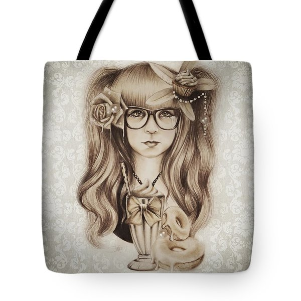 Vanilla Tote Bag by Sheena Pike