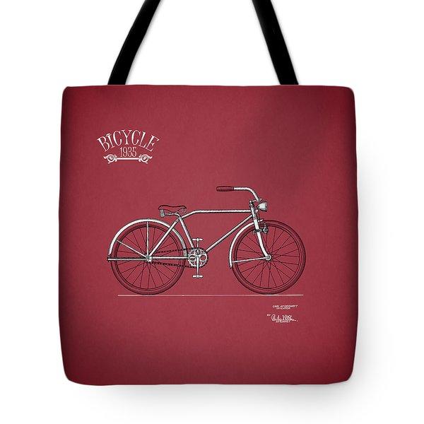 Bicycle 1935 Tote Bag