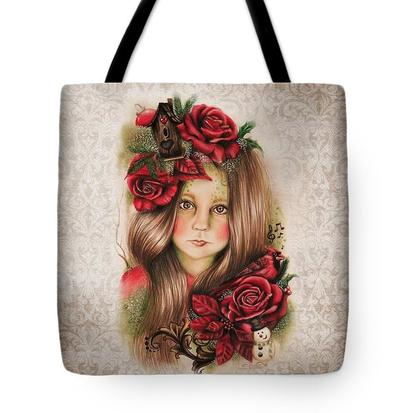 Merry Tote Bag by Sheena Pike