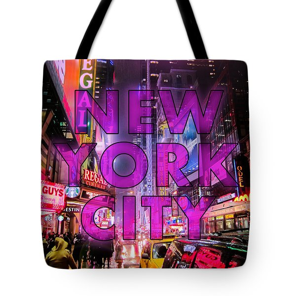 New York City - Color Tote Bag