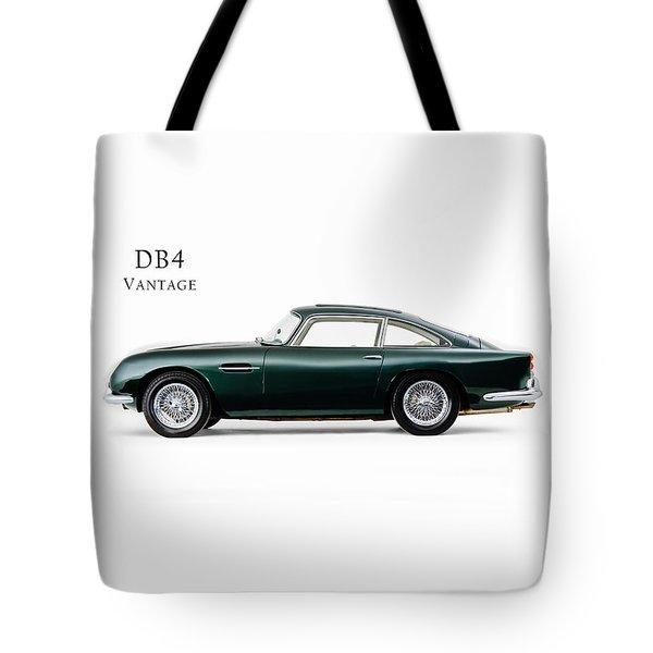 Aston Martin Db4 Vantage Tote Bag