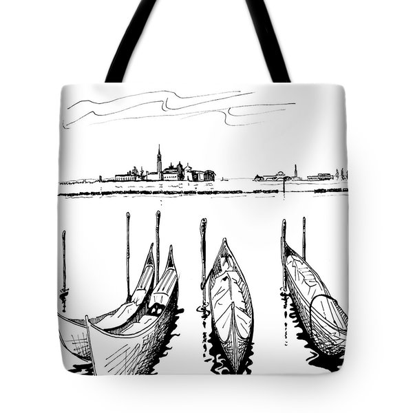 Venice Tote Bag by Andrew Cravello