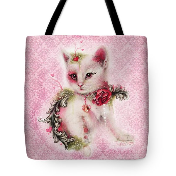 Love Is In The Air Tote Bag by Sheena Pike