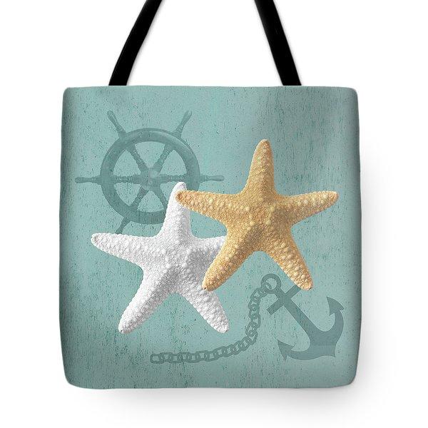 Nautical Stars Tote Bag