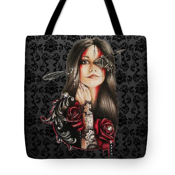 Self Affliction Tote Bag by Sheena Pike