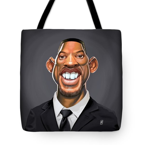 Celebrity Sunday - Will Smith Tote Bag