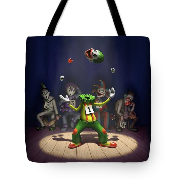 A Hard Act To Follow Tote Bag