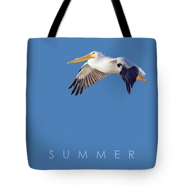 Blue Series 003 Summer Tote Bag