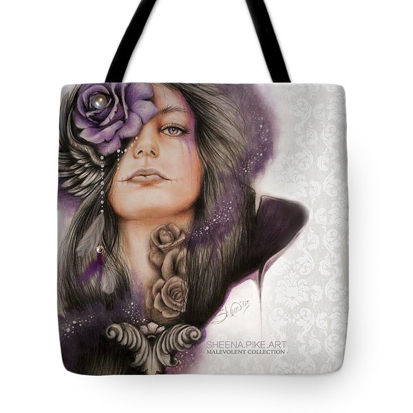 Sweet Sorrow Tote Bag by Sheena Pike