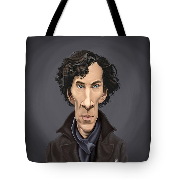 Celebrity Sunday - Benedict Cumberbatch Tote Bag