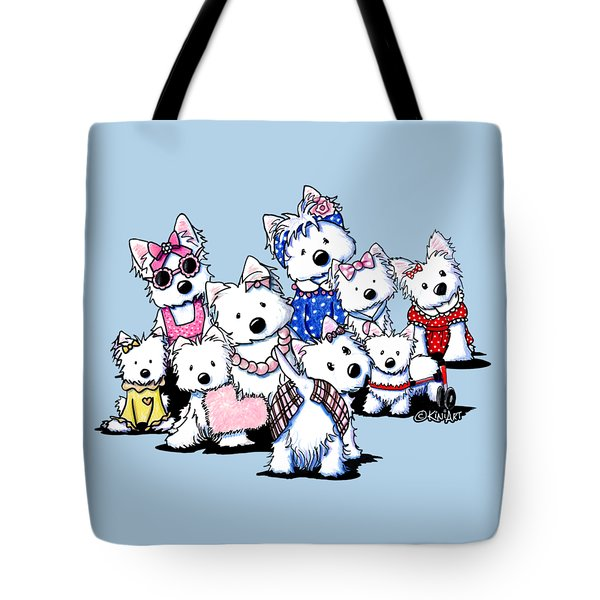 International Westie Women Tote Bag