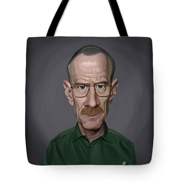 Celebrity Sunday - Bryan Cranston Tote Bag
