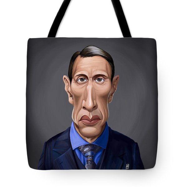 Celebrity Sunday - Mads Mikkelsen Tote Bag