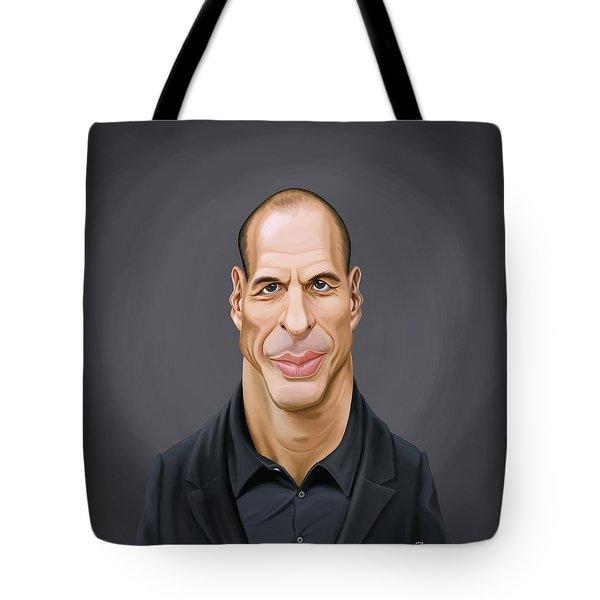 Celebrity Sunday - Yanis Varoufakis Tote Bag