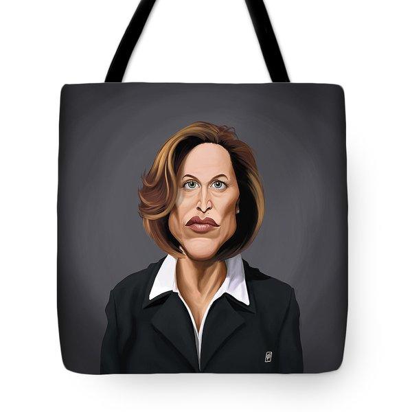 Celebrity Sunday - Gillian Anderson Tote Bag