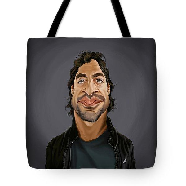 Celebrity Sunday - Javier Bardem Tote Bag