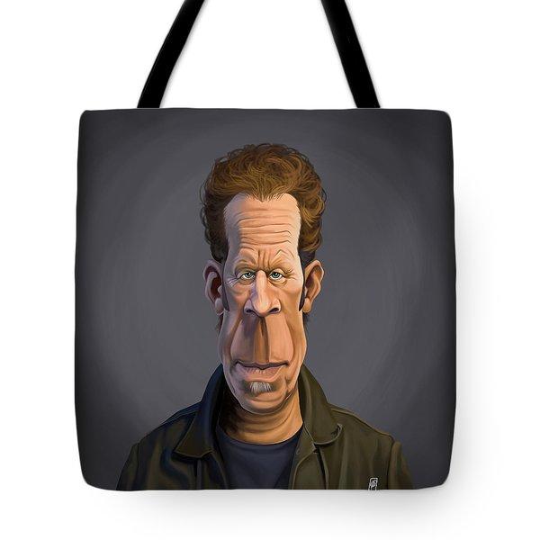 Celebrity Sunday - Tom Waits Tote Bag