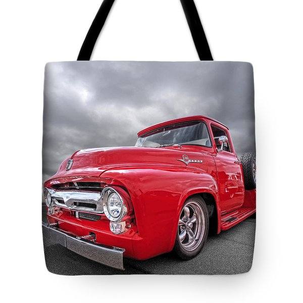 Red F-100 Tote Bag