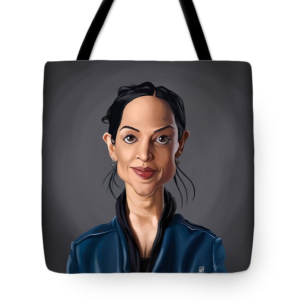 Celebrity Sunday - Archie Panjabi Tote Bag