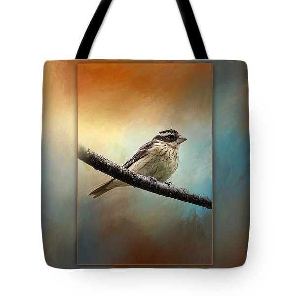 Wisconsin Songbird Tote Bag