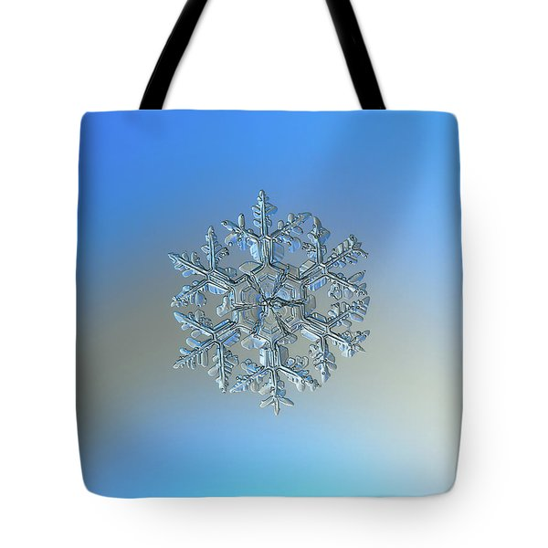 Snowflake Photo - Gardener's Dream Tote Bag