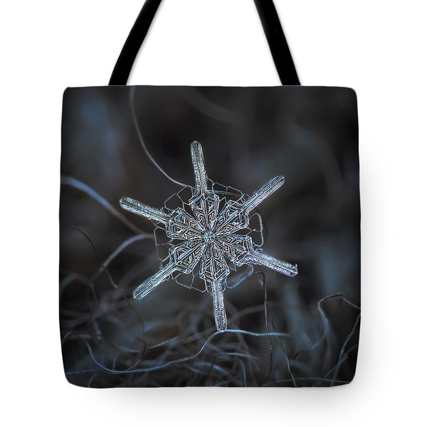 Snowflake Photo - Steering Wheel Tote Bag